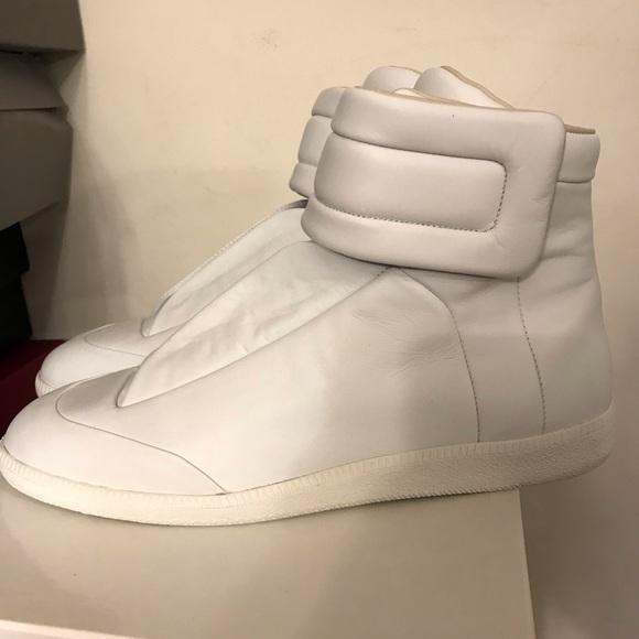 Maison Future Nwt High New Top Margiela Sneakers White 0wPX8Okn